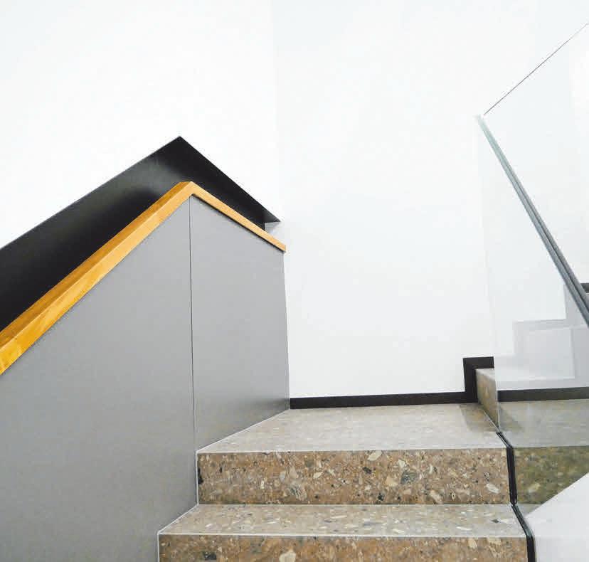 Hochwertige Materialien im Innenausbau