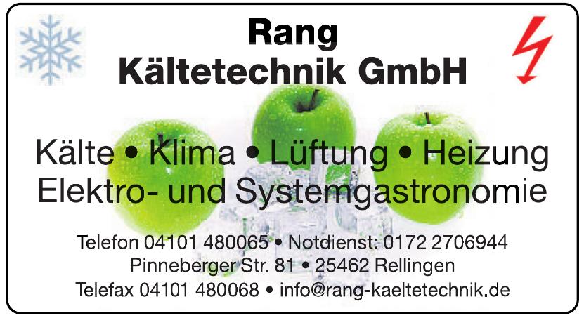 Rang Kältetechnik GmbH