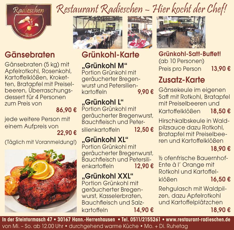Restaurant Radieschen