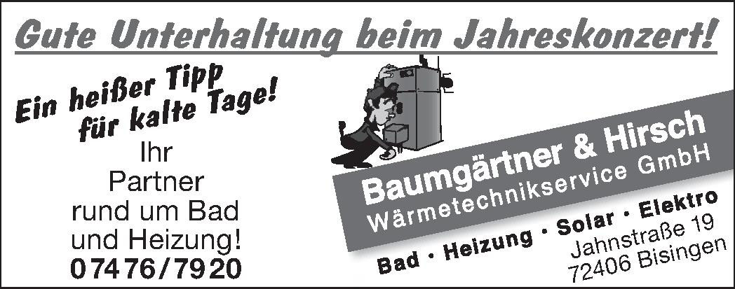 Baumgärtner & Hirsch Wärmetechnikservice GmbH