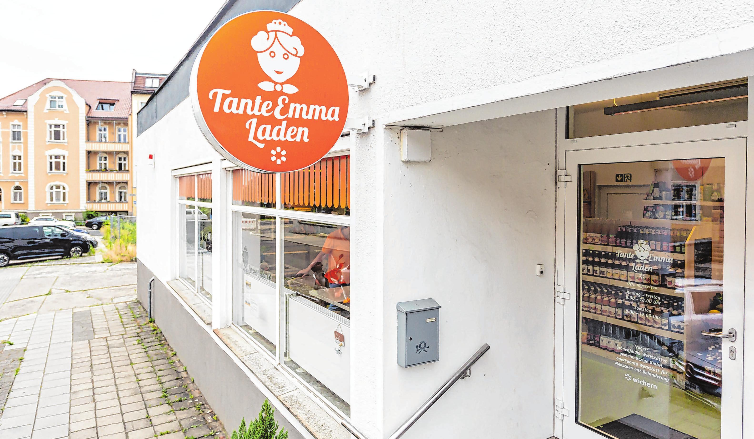 Der Tante Emma Laden befindet sich in der Humboldt Straße gegenüber vom Kleist Park.