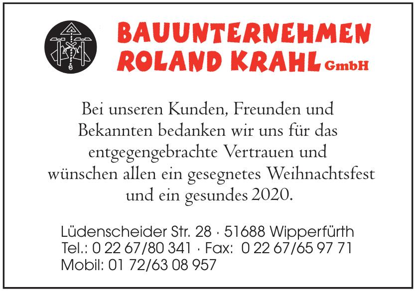 Bauunternehmen Roland Krahl GmbH
