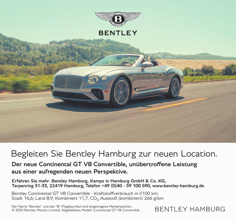 Bentley Hamburg, Kamps in Hamburg GmbH & Co. KG