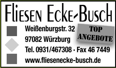 Fliesen Ecke-Busch