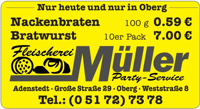 Fleischerei Müller Party-Service