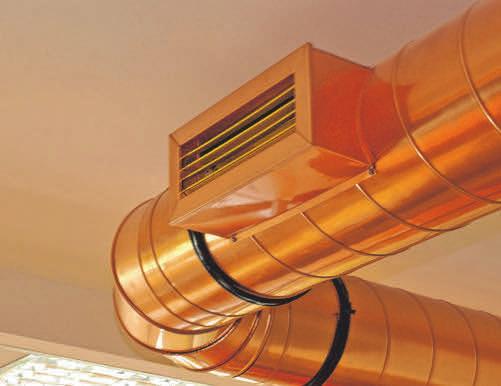 Anlagen zur Entlüftung von Wohnräumen können durch Wärmerückgewinnung Energieverluste deutlich senken.