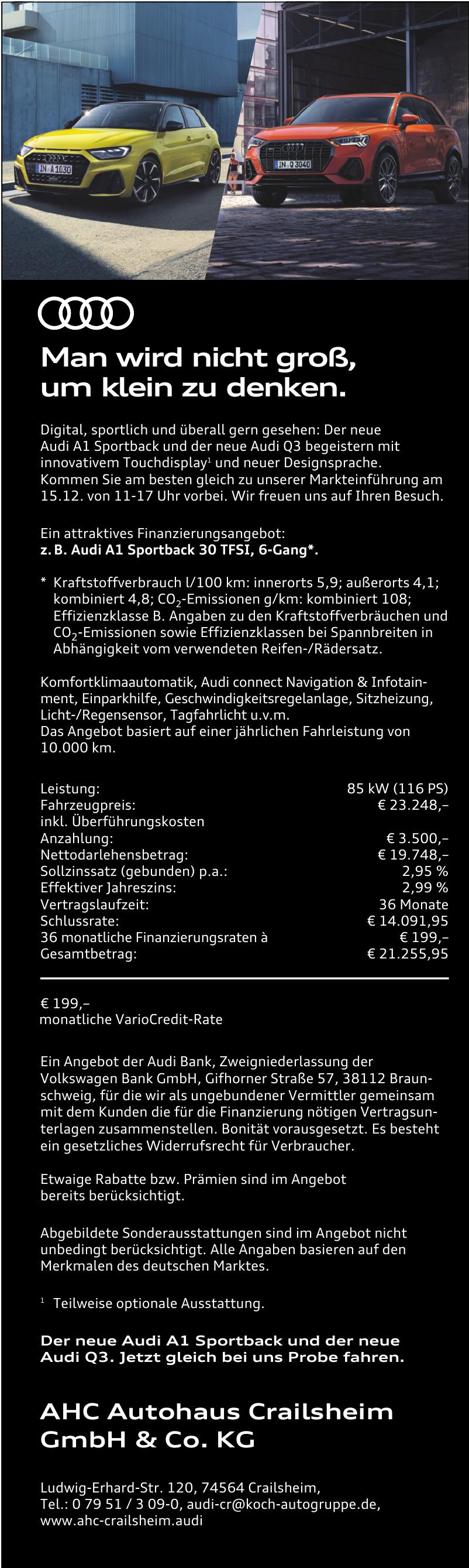 AHC Autohaus Crailsheim GmbH & Co. KG