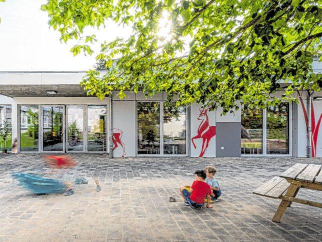 Kommunalbau - evangelischer Kindergarten Tauberbischofsheim von Schreiner Architekten BILD: JULIUS STARK