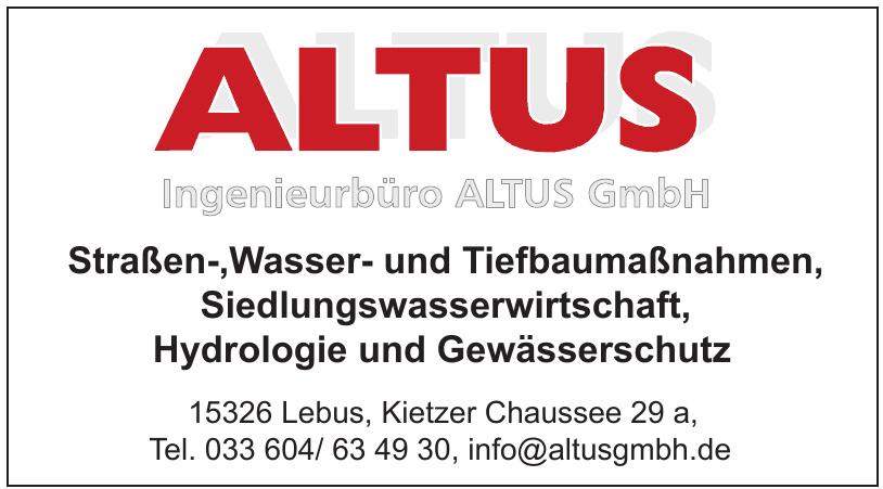 Altus Ingenieurbüro GmbH