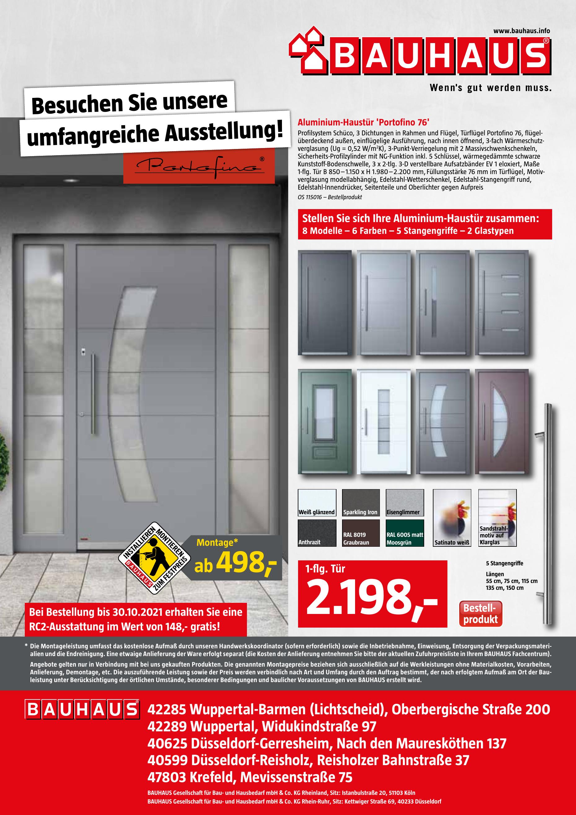 BAUHAUS Gesellschaft für Bau- und Hausbedarf mbH & Co. KG Rheinland