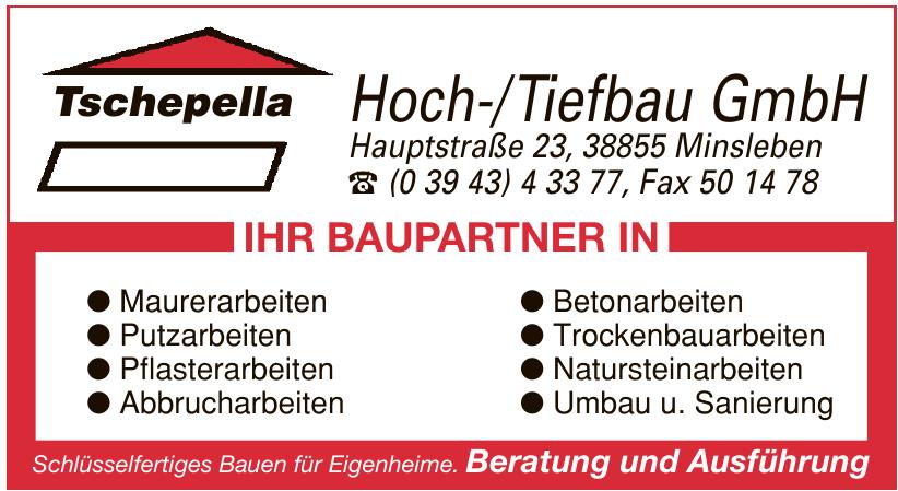 Tschepella Hoch-/Tiefbau GmbH