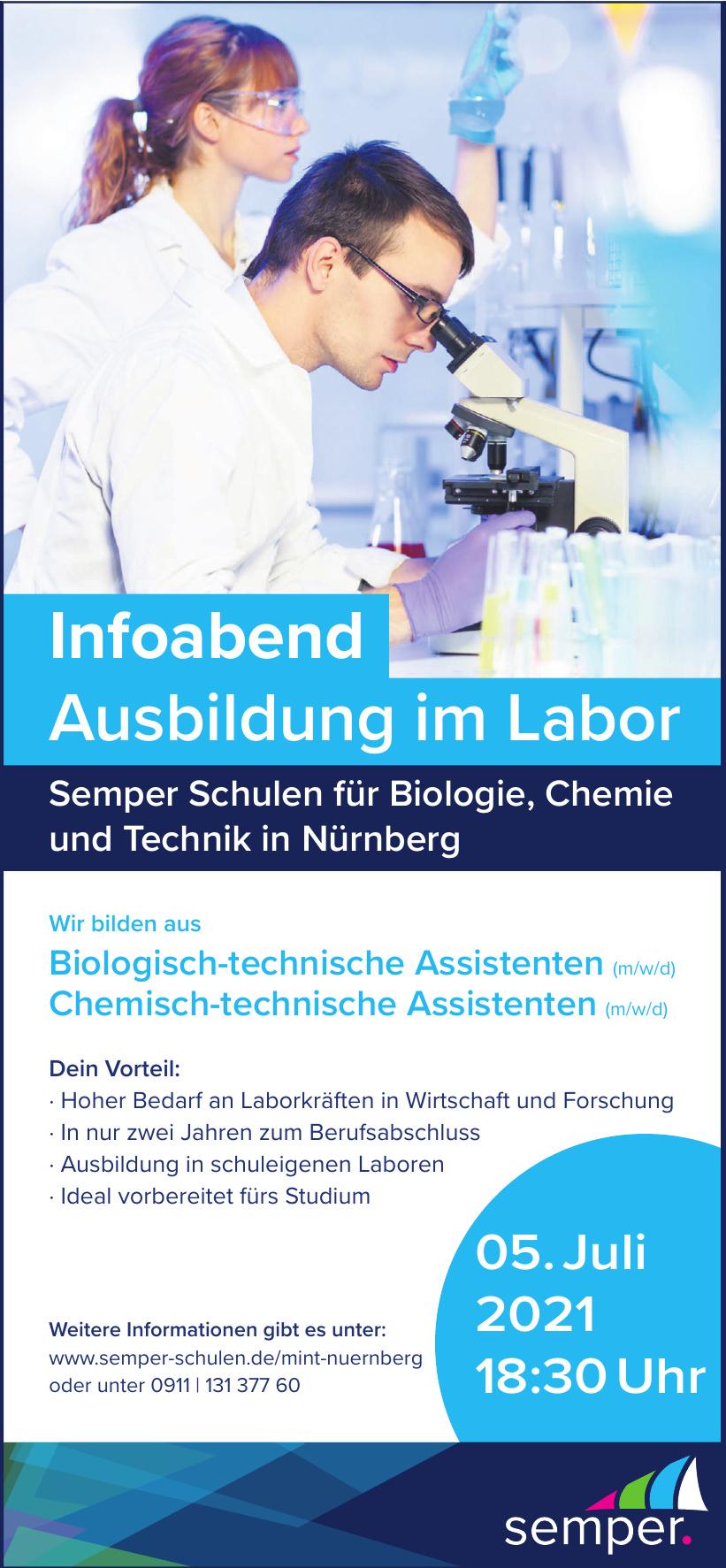 Semper Schule für Biologie, Chemie und Technik
