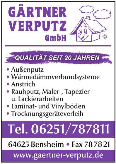 Gärtner Verputz GmbH