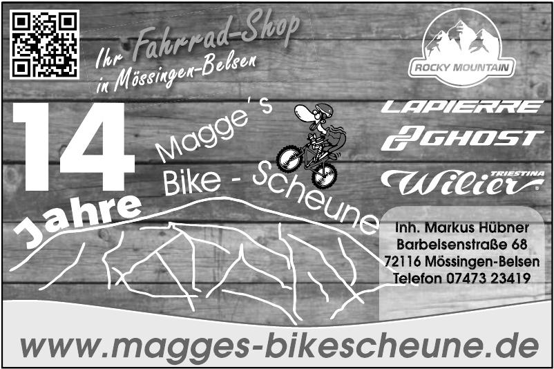 Magge´s Bike - Scheune