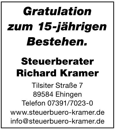 Steuerberater Richard Kramer