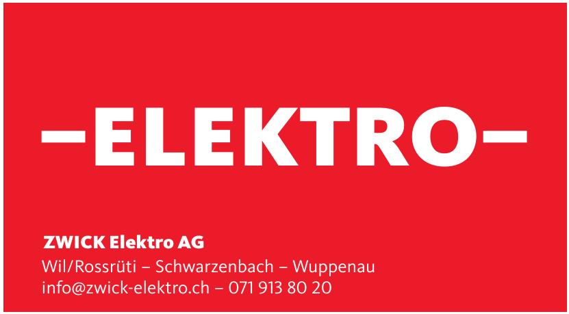 ZWICK Elektro AG
