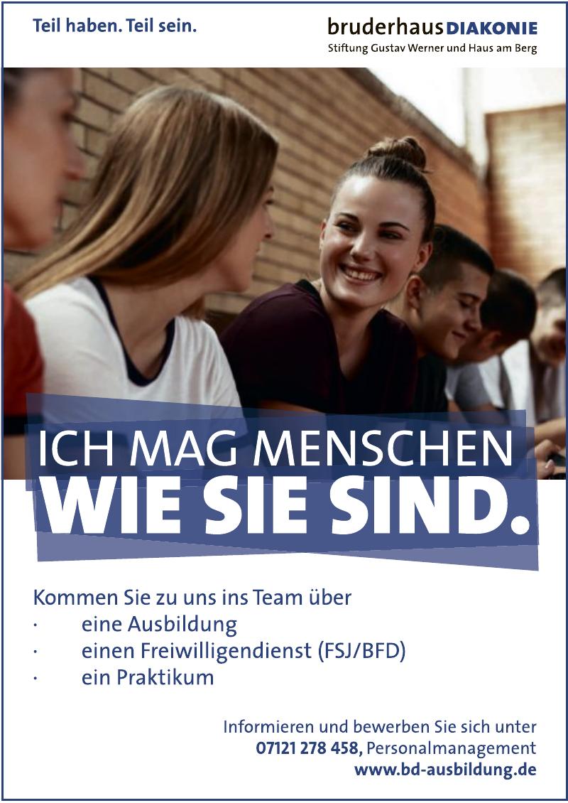 BruderhausDiakonie – Stiftung Gustav Werner und Haus am Berg