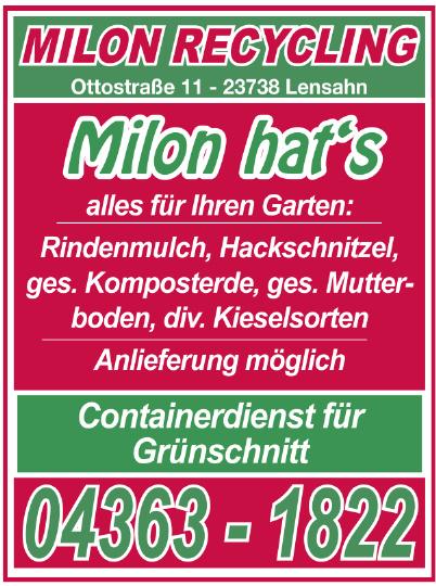 Milon Recycling