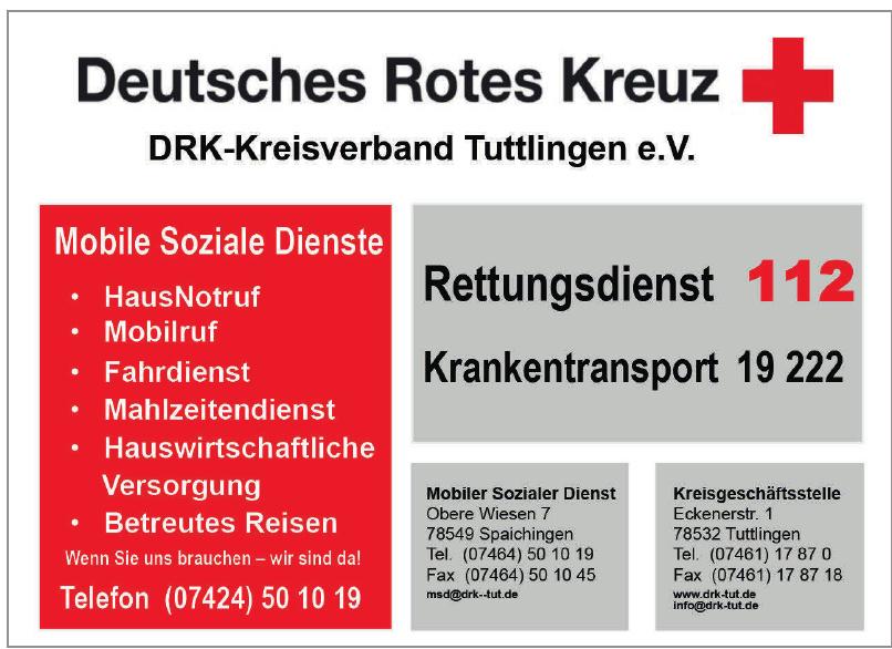 DRK-Kreisverband Tuttlingen e. V.