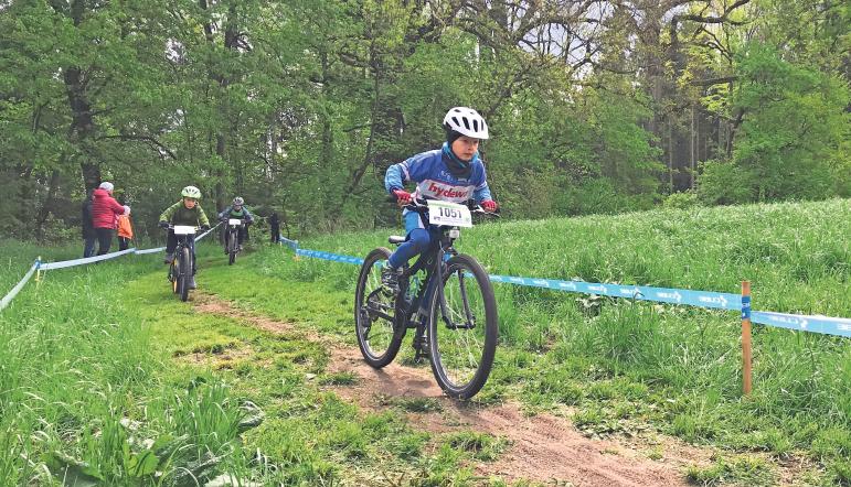 In allen Altersklassen – von der U7 bis hin zu Damen und Herren – stehen spannende Rennen auf dem Programm.  Unser Bild zeigt die U11. Fotos: red