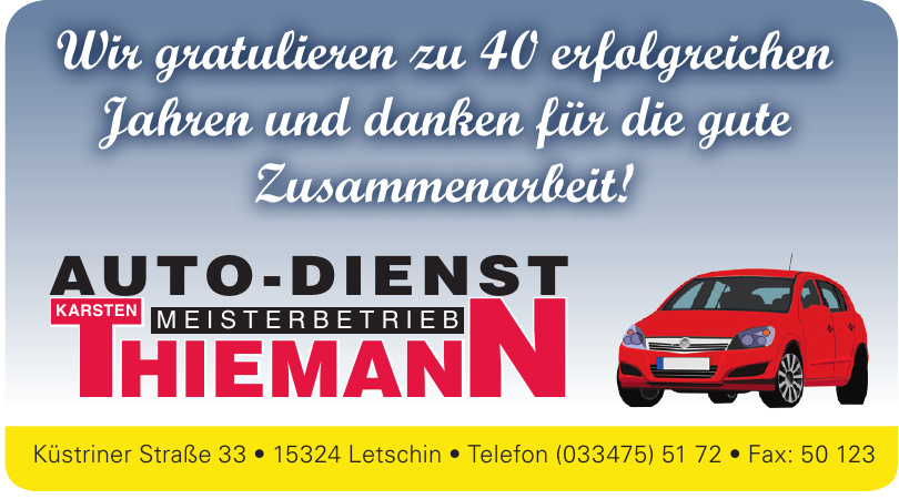 Autodienst Karsten Thiemann