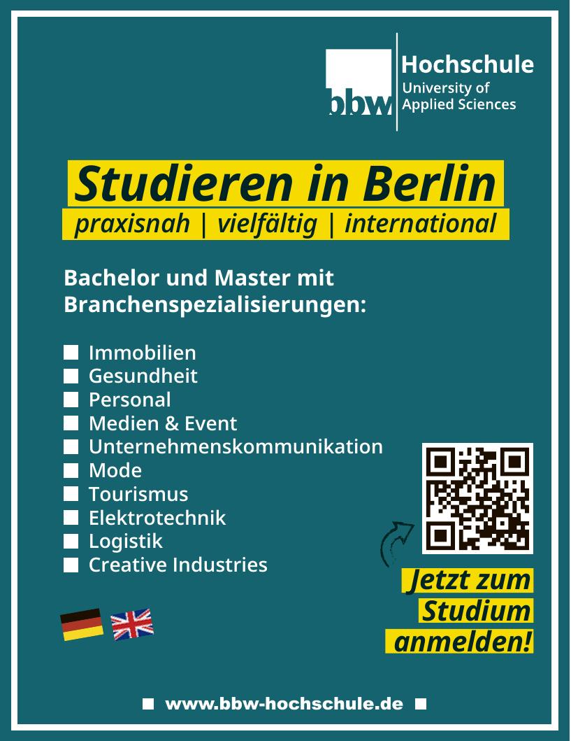 bbw Hochschule University of Applied Sciences