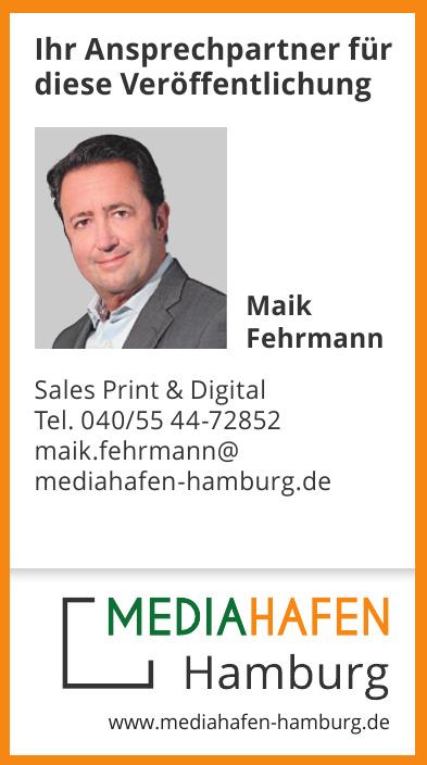 Maik Fehrmann Sales Print & Digital