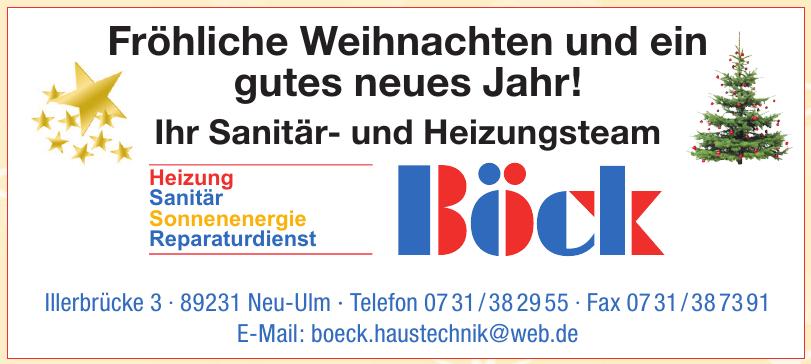 Sanitäre Anlagen Gasheizungen Inh. Klaus Böck