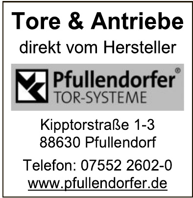 Pfullendorfer Tor- Systeme GmbH & Co. KG