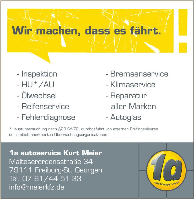 1a autoservice Kurt Meier