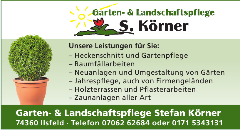 Garten- & Landschaftspflege Stefan Körner