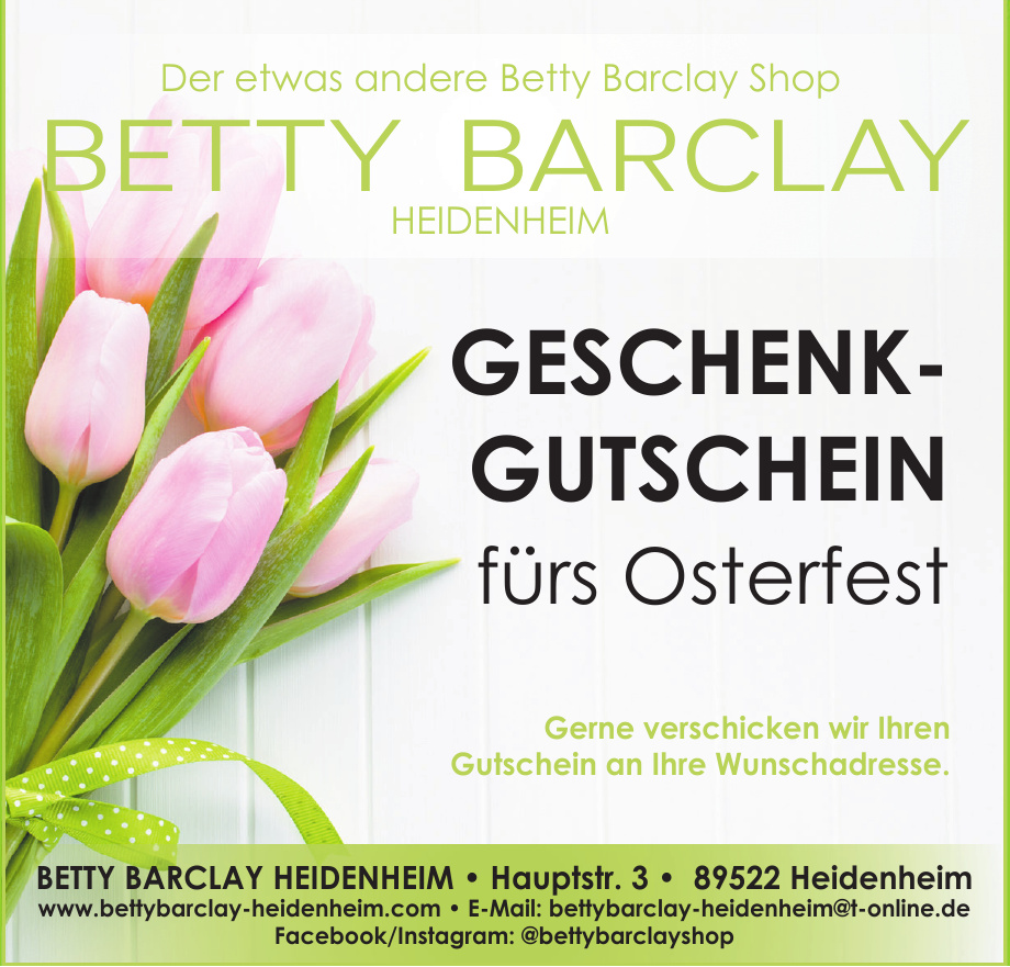 Betty Barclay Shop