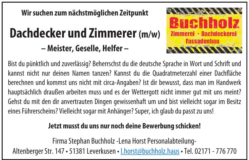 Firma Stephan Buchholz