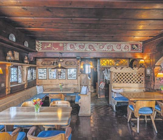 A Hotel Chesa Grischuna, Klosters