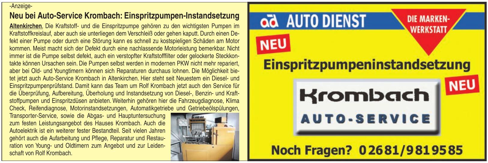 Auto-Service Krombach