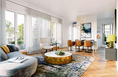"""Das Projekt """"LES DEUX"""" zeigt, wie Luxuswohnungen gestaltet sein können. ZIEGERT"""