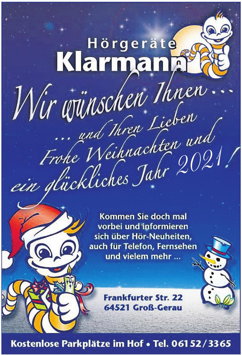 Hörgeräte Klarmann