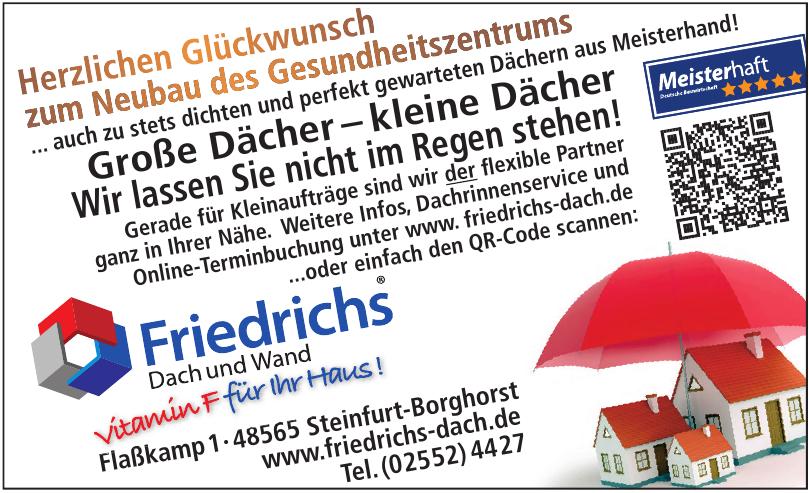 Friedrichs Dach+Wand GmbH