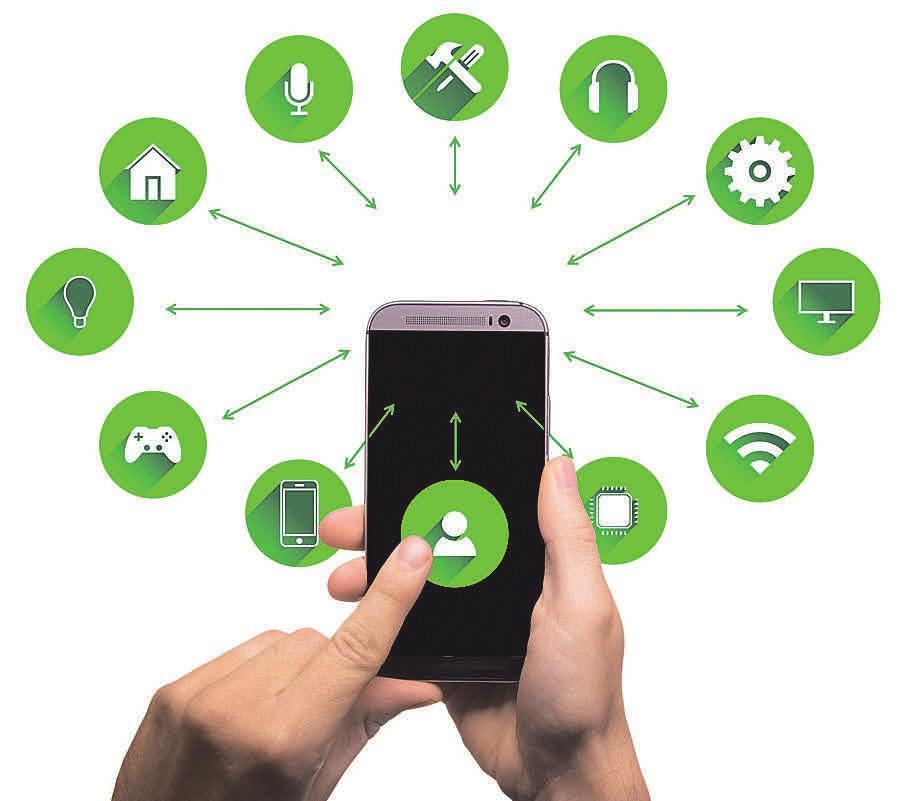 Über das Smartphone oder ein Tablet kann man mittlerweile so gut wie jedes Gerät mit einer Smarthome-Funktion steuern.