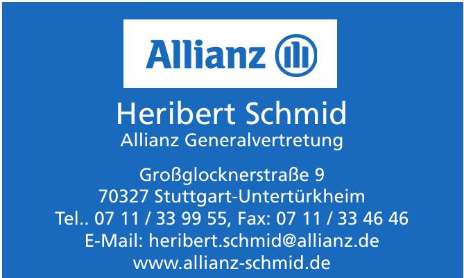 Heribert Schmid Allianz Generalvertretung