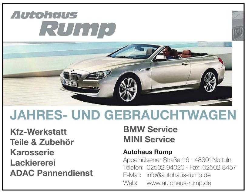 Autohaus Rump