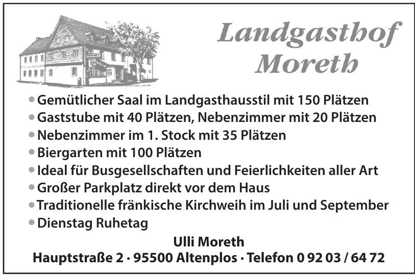Landgasthof Moreth
