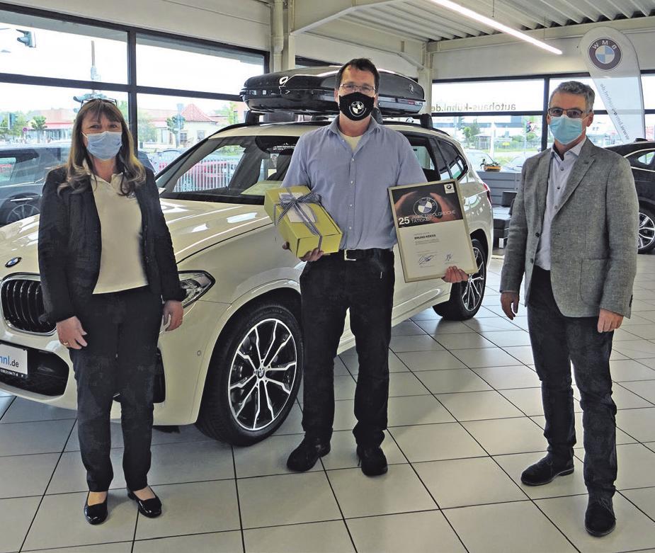 BMW Autohaus Kühnl in Haßfurt ehrt langjährige Mitarbeiter Image 2