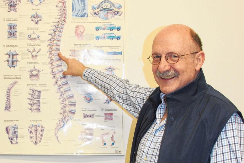 Dr. med Hans-Peter Rother ist auch jetzt für Sie da.