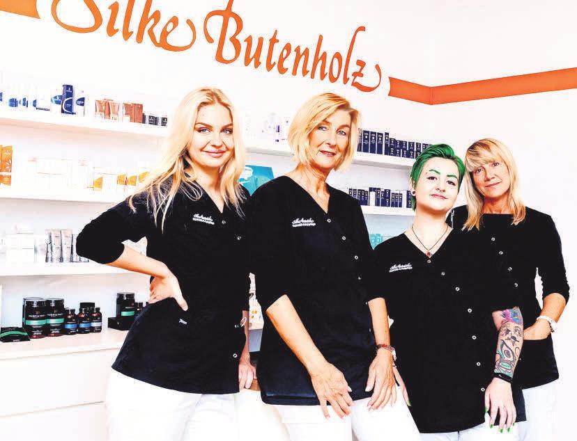 Silke Butenholz und ihr Team sorgen für ein gepflegtes Aussehen.