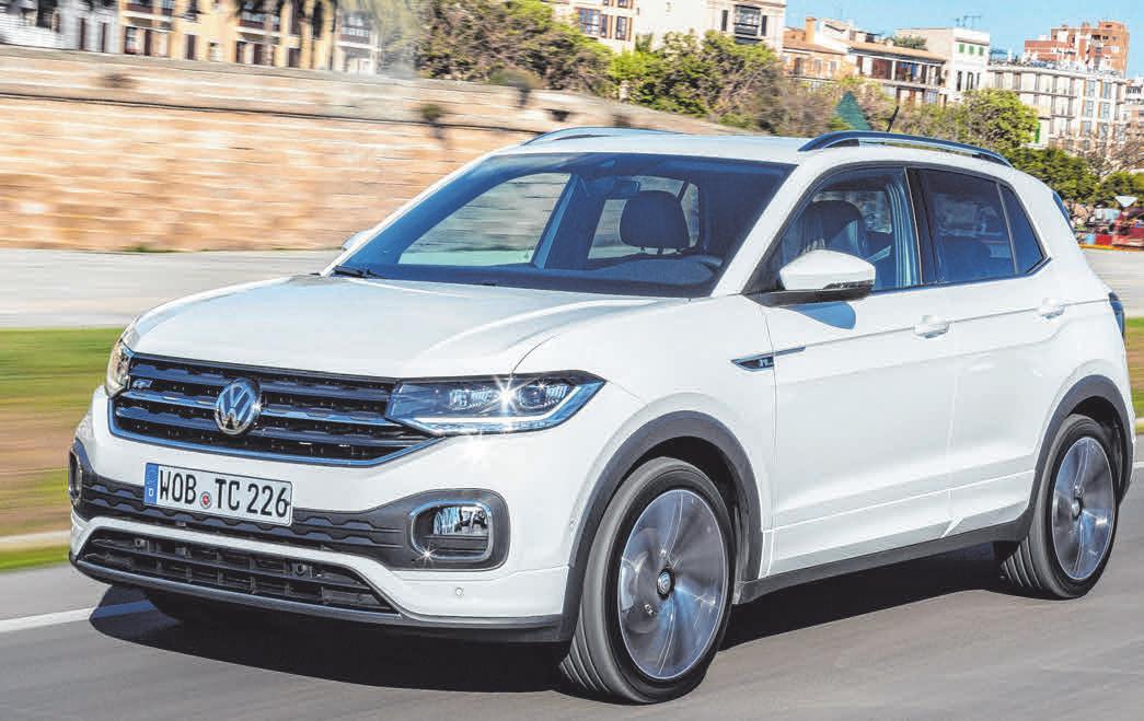Der innovative VW T-Cross genügt den allerhöchsten Sicherheitsansprüchen. FOTOS: VW