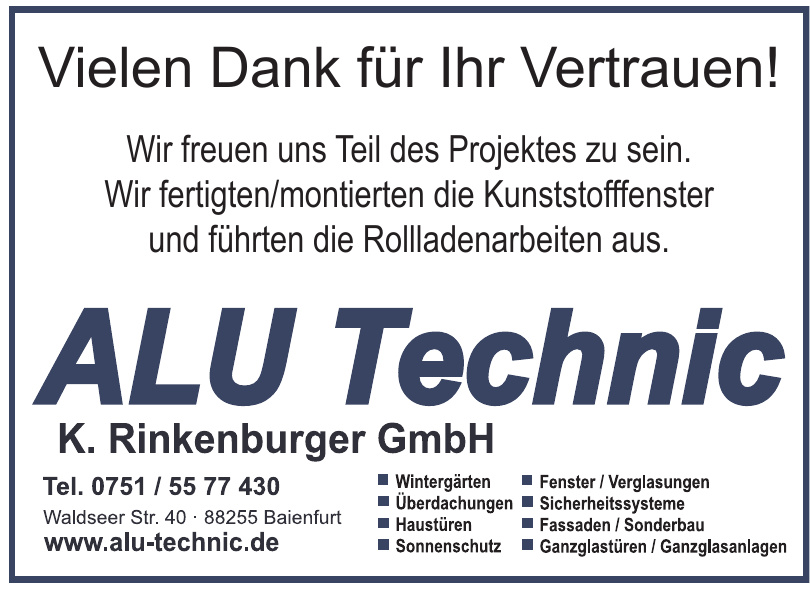 ALU TECHNIK K. Rinkenburger GmbH