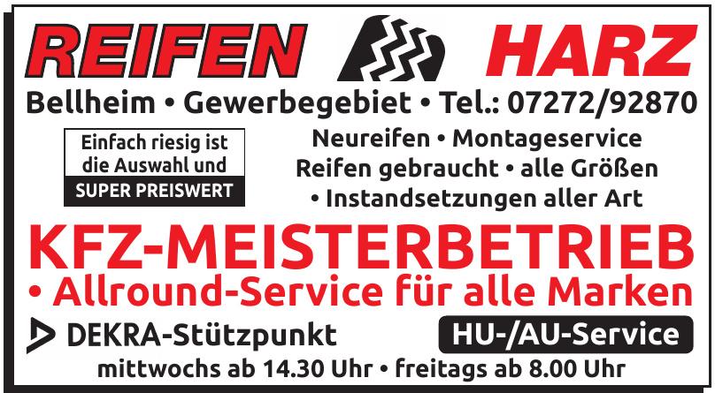 Reifen Harz