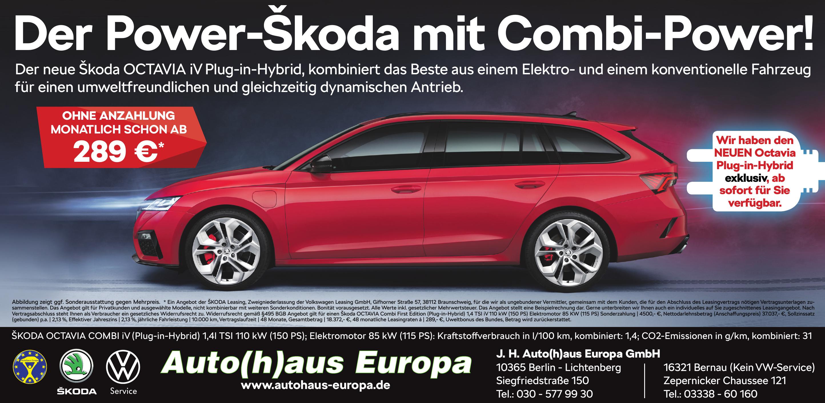J. H. Auto(h)aus Europa GmbH