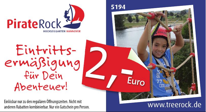 Treerock - PirateRock Hochsellgarten Hannover